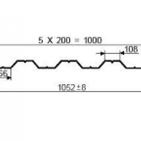 Профнастил НС44-1000