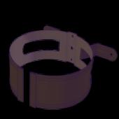 Кронштейн трубы на дерево